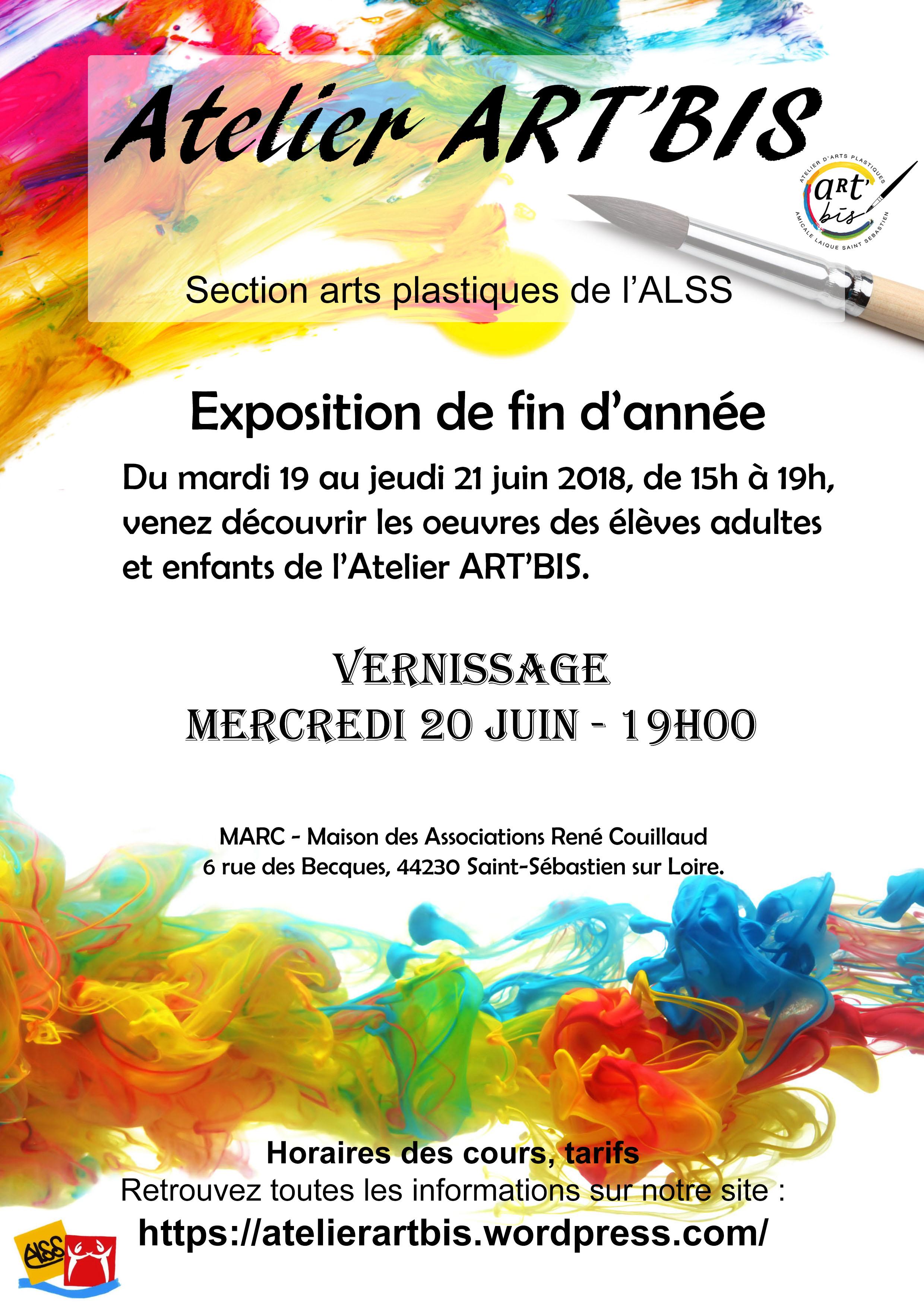 flyer Atelier ARTBIS – Expo 2018